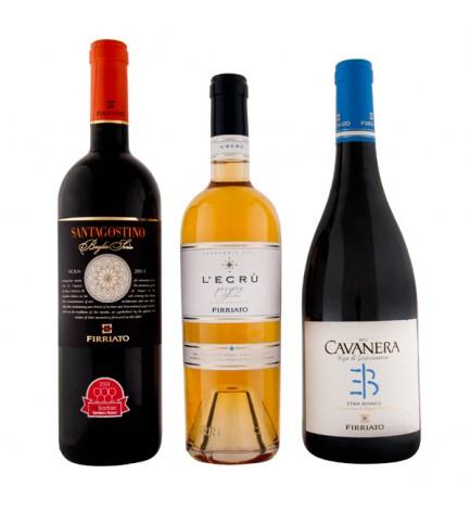 Volcano Etna Wine Basket