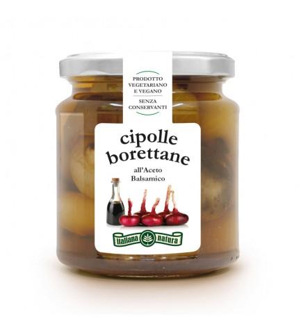 "Onions ""Borettane"" in balsamic vinegar"