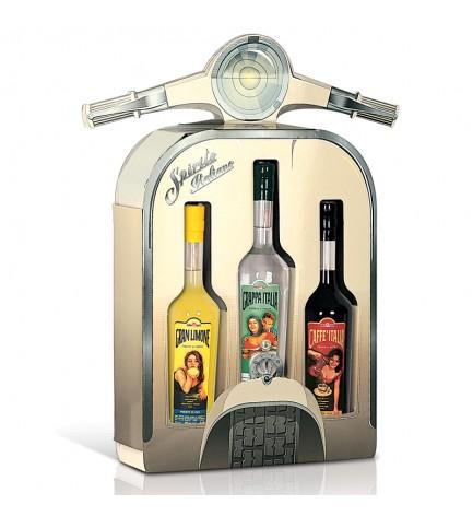 Vespa gift box - 3 liqueurs