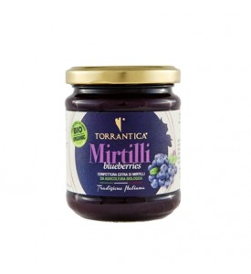 blueberries organic jam
