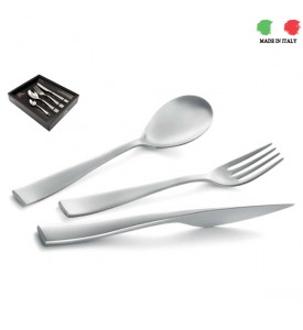 Sand Blasted Cutlery Set Etoile Collection