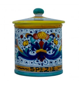 Spice Caddy - ceramics from Deruta